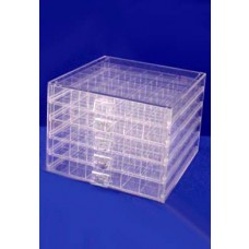 Clear Acrylic Multi Compartment