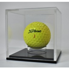 Acrylic Display Case Golf Ball