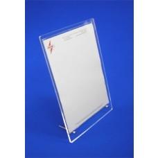 Acrylic Card Holder Flat Pack