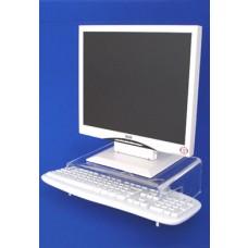 Acrylic Riser For VDU & Keyboard