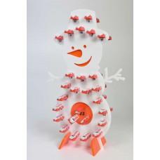 Christmas Advent Calendar Acrylic Snowman