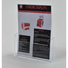Freestanding A4 Portrait Leaflet Dispenser