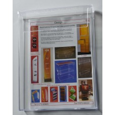 Outdoor A4 Portrait Leaflet Dispenser