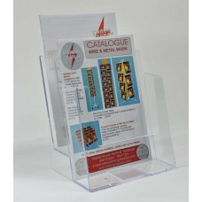 Freestanding A5 2 Tier Portrait Leaflet Dispenser