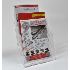 Freestanding A5 3 Tier Portrait Leaflet Dispenser