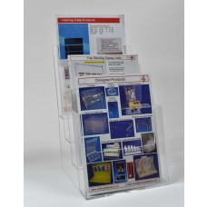Freestanding A5  4 Tier Portrait Leaflet Dispenser
