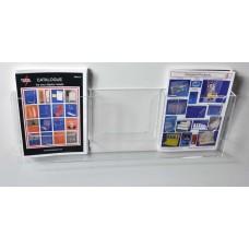 Wall Mounted A5x3 Portrait Leaflet Dispenser