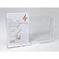 Freestanding A5x2 Portrait Leaflet Dispenser