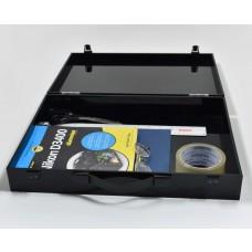Black Acrylic Brief Case