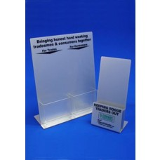 Silver Acrylic Dispensers