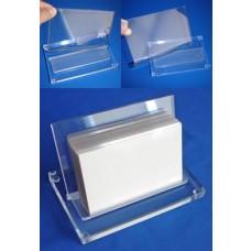 Acrylic Flat Pack Card Dispenser