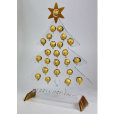 Christmas Advent Calendar Acrylic Rocher Tree