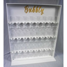 Acrylic Counter Stand Prosecco Wall