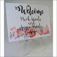Acrylic A4 Tabletop Easel