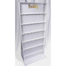 Acrylic Floor Stand Prosecco Wall
