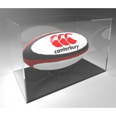 Acrylic Display Case Rugby Ball Landscape