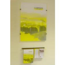 Leaflet Dispenser & Poster