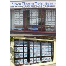 Boat Sales Window Display A5s