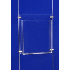 A4 Clear Acrylic Wall Dispenser